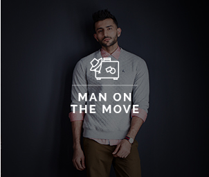 Man On The Move